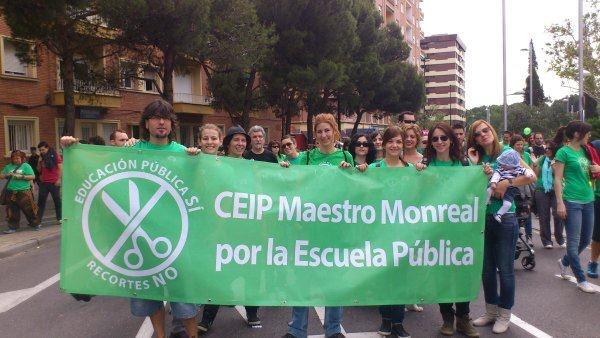 CEIP Maestro Monreal por la Escuela Pública...