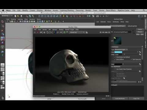 Basic Lighting in Maya [TUTORIAL] - YouTube & 70 best ? CG|MAYA /// Lighting | Rendering images on Pinterest ... azcodes.com
