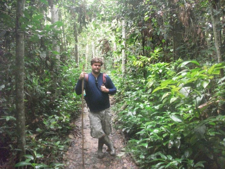 A trek through the #Amazon in #Iquitos #Peru with Matt G from our sales team