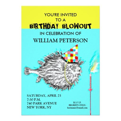 433 Best Funny Birthday Party Invitations Images On