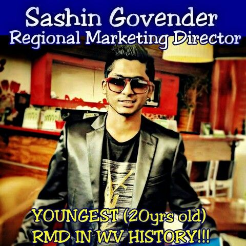 """::BREAKING NEWS:: Huge Shout Out To My Friend and Success Partner @sashingovender0 All The Way From South Africa For Becoming The Youngest (20yrs old) RMD In Our VIP Lifestyle Club!! The Average Income In South Africa Is $400 A Month. Because He Said Yes To That """"Little Blue Sign"""" Now His Income Ranges From $164,000 to $1,020,665 A Year!!! Not Only Has He Changed His Life But Is Helping Thousands To Do The Same!! NOW THIS IS CALLED EARLY RETIREMENT!!! How Long Will It Take You To Retire?…"""