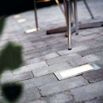 The Nordlux Decostone 22310034 Stainless Steel Ground Recessed Light is ideal for both residential and commercial outdoor use. Whether you want to illuminate a deck, patio, pathway, or pavements, this is the light for you.