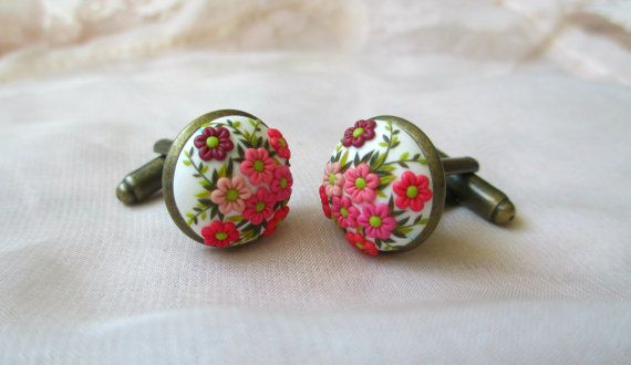 Handmade Polymer Clay Dancing Spring Flowers by StoriesMadeByHands