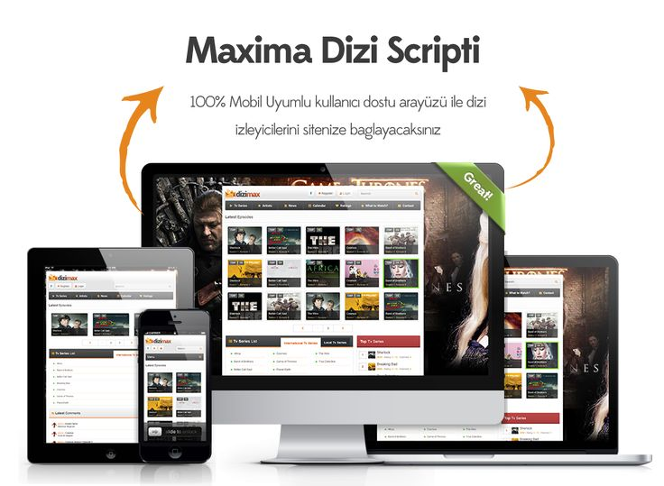Maxima Dizi Scripti - En kullanışlı dizi scripti | Sanal Kod - Türkiyenin webmaster marketi. http://sanalkod.com/urun/maxima-dizi-scripti-1-