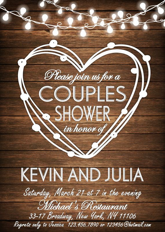 COUPLES SHOWER INVITATION Bbq Couples shower Bbq by DigitalLine  Repinned by KineticoUtah.com