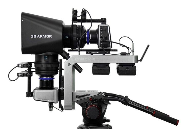 PDMOVIE 3D ARMOR III Light Weight 3D Production Rig