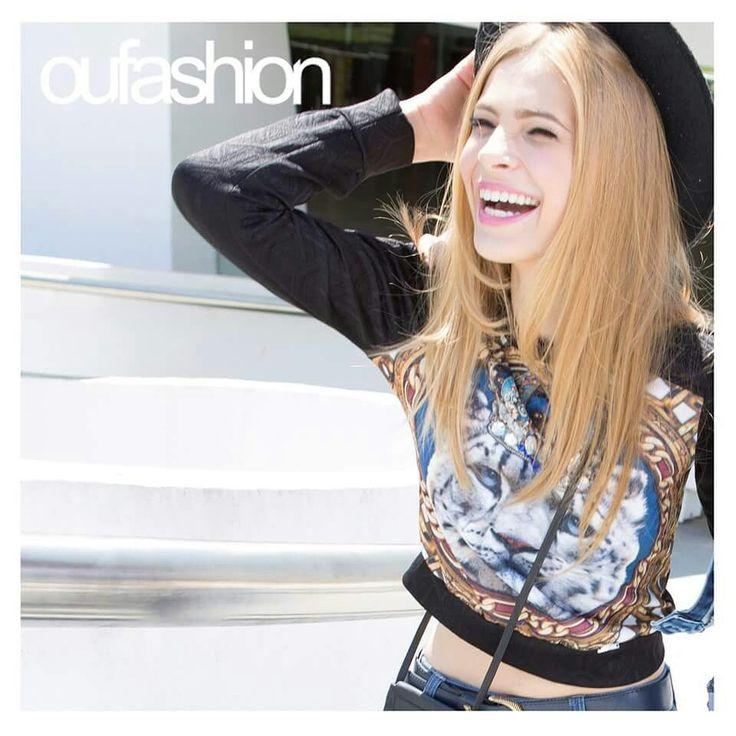 Cropped no Inverno? Sim! De forma mais discreta, mas a barriguinha de fora continua!   #oufashion #cropped #teen