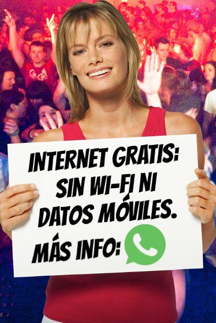 La nueva estafa de WhatsApp: internet gratis.