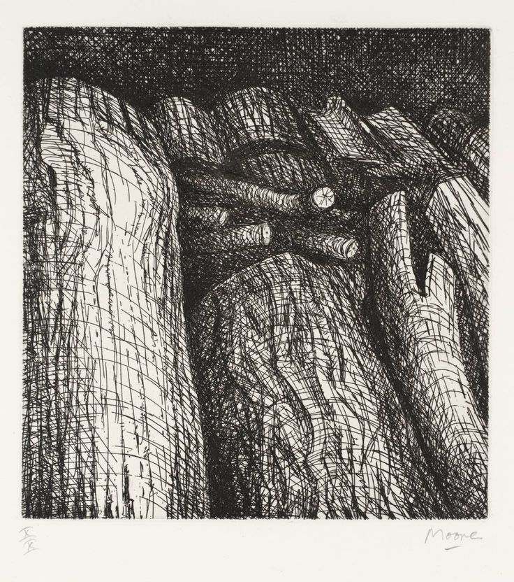 Henry Moore OM, CH 'Log Pile I', 1972–4 © The Henry Moore Foundation, All Rights Reserved, DACS 2014
