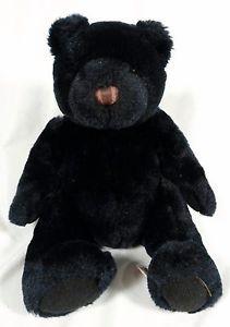 VELVETE by Greek Black #Teddy #Bear Plush Stuffed Animal Soft Toy 8in | on eBay | http://www.ebay.com/itm/331556851551