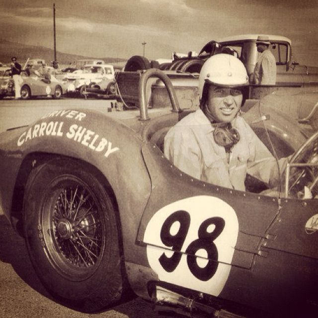 1963 - Carroll Shelby's (#98) Cooper-Monaco King Cobra at the 1963 Nassau Trophy Race