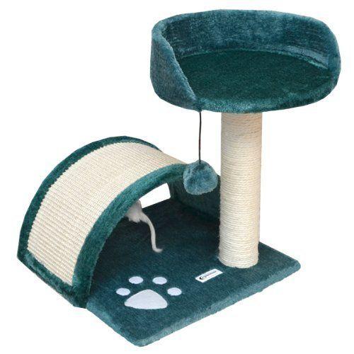 Rascador para gatos de sisal – color verde