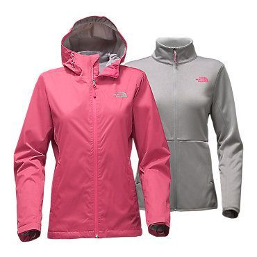 The North Face Women's Arrowood Triclimate Rain Fleece Jacket