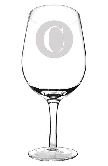 Cathy's Concepts Personalized 'XL' Novelty Wine Glass