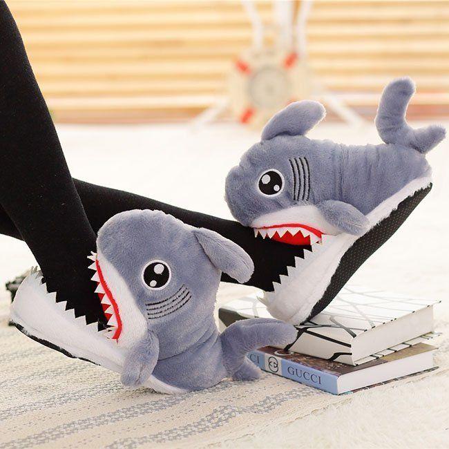 Fancy | Shark Cotton Slipper