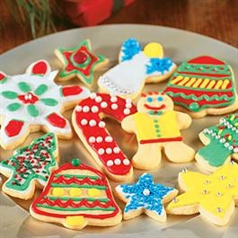 Classic Sugar Cookies with homemade frosting.