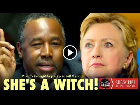 Ben Carson DESTROYS Hillary Clinton And Drops Video She Can't Explain - YouTube
