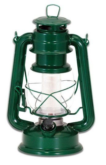 It's never been easier to bring a vintage feel to your outdoor party. The vintage lantern from Northpoint comes with a classic look and no strings attached. The perfect light for outdoor parties or emergencies! This vintage-style lamp illuminates any area with 12 high intensity LED bulbs. Built-in dimmer switch and retro-style handle. No dangerous fuel or wiring needed.