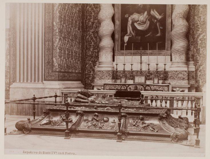 Sepulcro di Sisto IV in S. Pietro | Works | James Anderson | People | George Eastman Museum