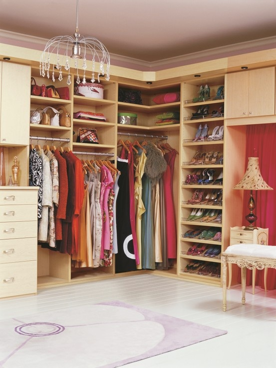 62 best Closets We Love: Hers images on Pinterest | Closet wall ...