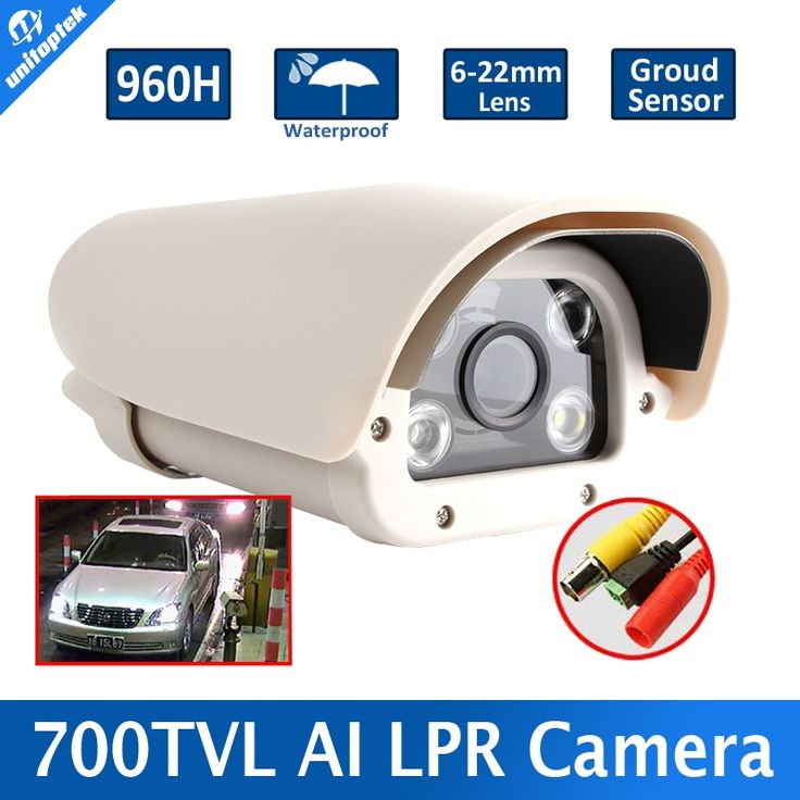 148.99$  Buy here - http://alif9g.worldwells.pw/go.php?t=32454389788 - Sony 700TVL For Parking Lot/Toll-gate Vehicle Automatic Number Plate Recognition ANPR Camera Intelligent,6-22mm Lens,Outdoor Use 148.99$