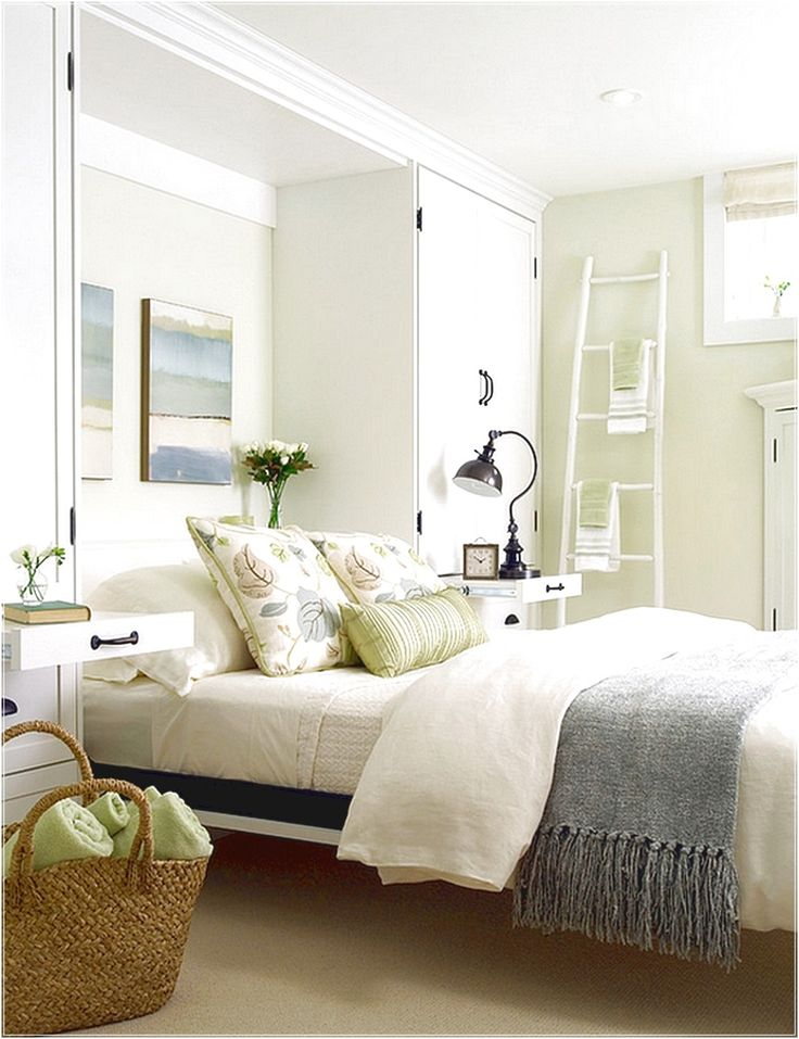 Best A Breezy And Cool Color Scheme For The Basement Bedroom 400 x 300