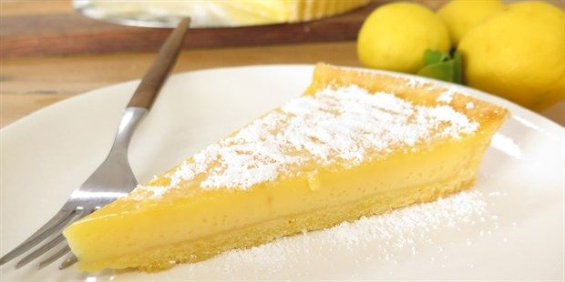 Lemonade Tart - Paul West, River Cottage Australia. If using normal lemons, up the sugar content