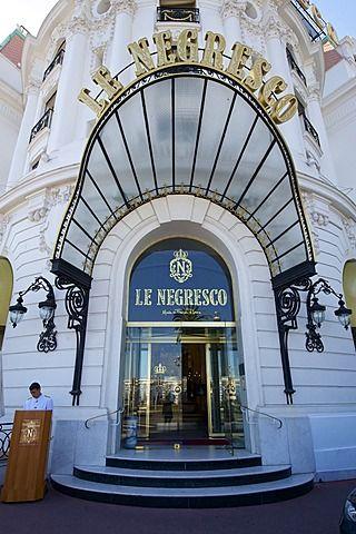 Hotel Negresco, Nice, Cote d'Azur, France