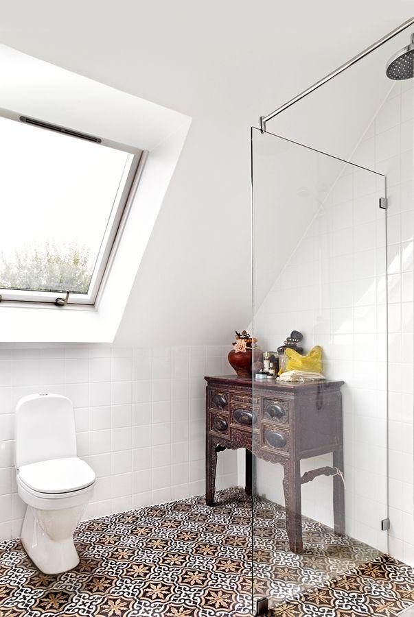 Duschrum/Toalett på ovanplan
