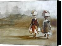 Going Home Painting by Alida Bothma - Going Home Fine Art Prints and Posters for Sale