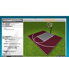 Basketball Courts | Outdoor Game Courts | Backyard Basketball Court | Multi-Game Courts | Basketball Floors | Sport Flooring| by DunkStar®