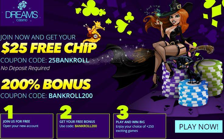 Dreams casino free bonus no deposit