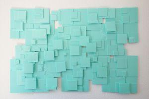 styrofoam squares