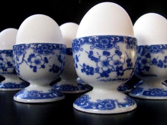 17 Best Images About Vintage Egg Cups On Pinterest Blue