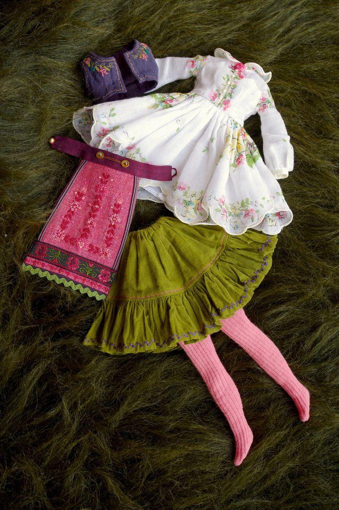 https://flic.kr/p/bpJcRa | For Fanny ≈ Hanky II ≈ | The complete dress set