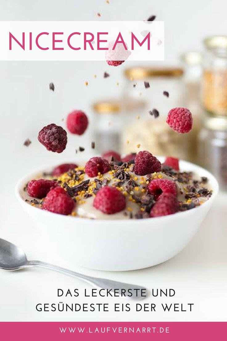 Das simple Rezept für das gesündeste und leckerste Eis der Welt. Mit Nicecream lässt sich jede Sorte deines Lieblingseis selbst herstellen!