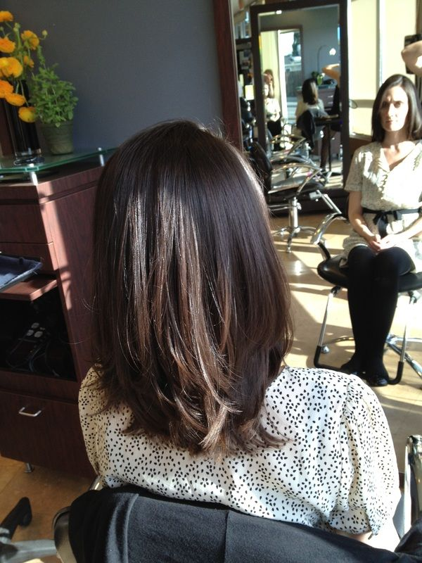 Layers for medium length hair