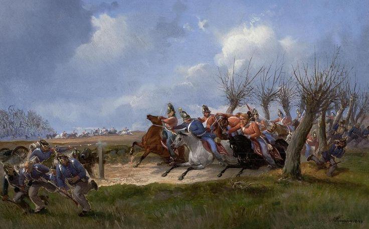 The Athenaeum - Battle of Schleswig, 24th April 1848 (Niels Simonsen - )
