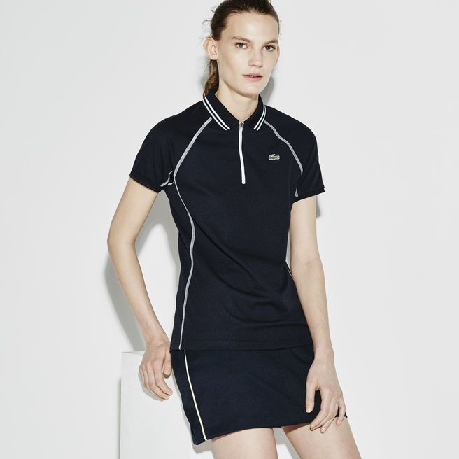 Lacoste SPORT Golf polo in ultra-dry technical knit