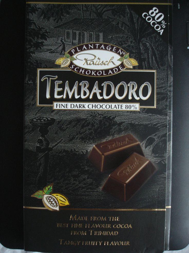 Tembadoro 80% and huge (250grs)