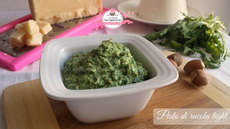 Pesto light di rucola (66 calorie)