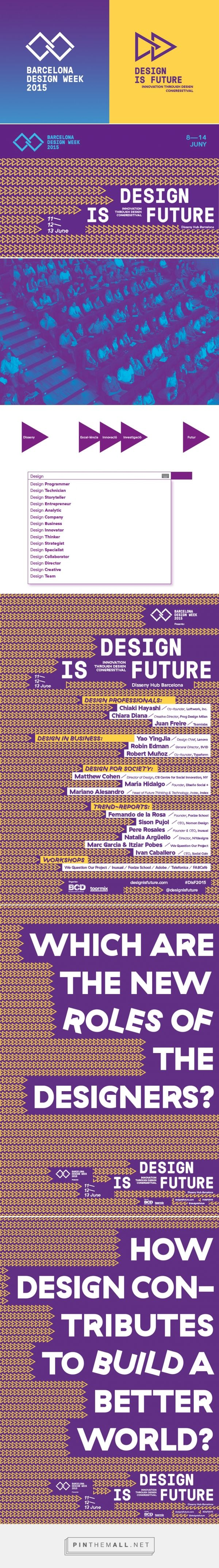 Design is Future. Lo mejor de un congreso y un festival - created via http://pinthemall.net