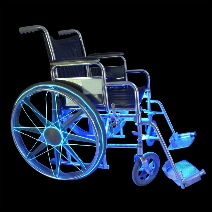 How to Illuminate a Wheelchair for Safety Using EL Wire & LED Strip « MacGyverisms