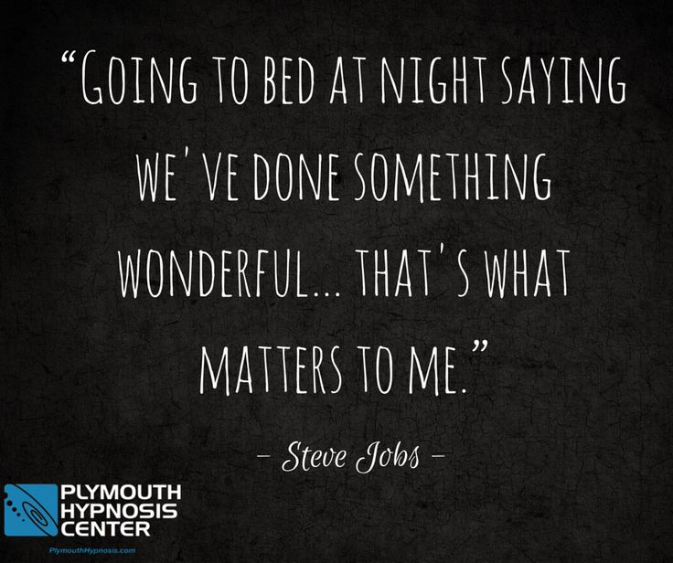 """""""Going to bed at night saying we've done something wonderful...that's what matters to me."""" - Steve Jobs #quote #BeAwesome #quotes"""