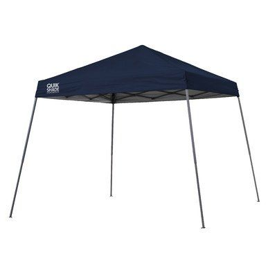 Quik Shade Expedition Instant Canopy, Navy. For product & price info go to:  https://all4hiking.com/products/quik-shade-expedition-instant-canopy-navy/