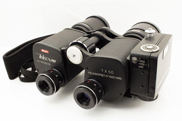 Excellent Ricoh Teleca 240 35mm half-frame camera 7x50 Binoculars Rare 1970s FS   eBay