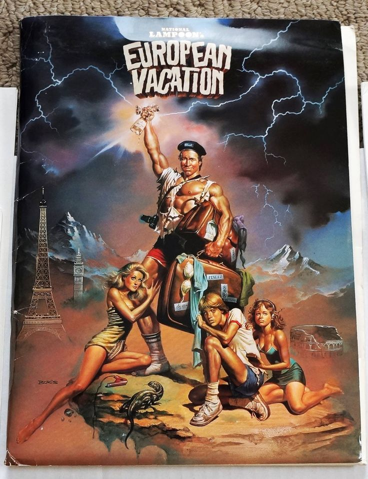 National Lampoon's European Vacation Original 1985 Movie