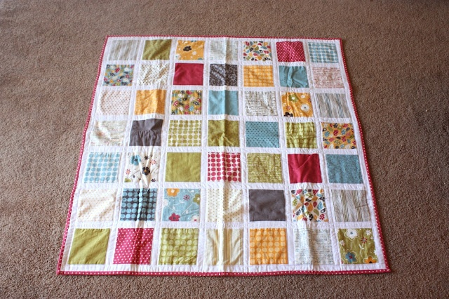 The Crafty Cupboard: Make Life Square Baby Quilt Top Tut: Quilts Patterns, Tops Tutorials, Baby Quilts, Squares Baby, Life Squares, Squares Quilts, Quilts Tops, Charms Packs Quilts, Quilts Tutorials