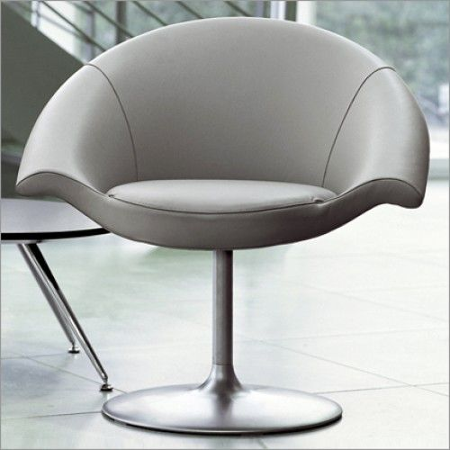#Tonon Nuvola Swivel #Chair, #Leather by Fabio Di Bartolomei