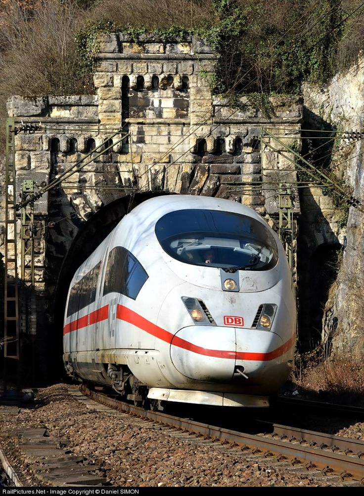 Deutsche Bahn AG  ICE-3   Between Freiburg and Basel GERMANY  22 February 2012  by Daniel Simon